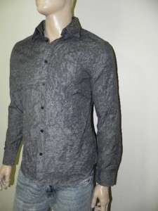 New Armani Exchange AX Mens Slim/Muscle Fit Button Front Shirt