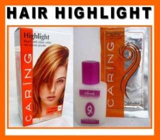 Hair COLOR HIGHLIGHT Hair Dye Permanent Punk Glam Bleach   One Step