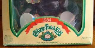 VINTAGE 1984 CABBAGE PATCH Kids DOLL in BOX Original Baby BOY Buck