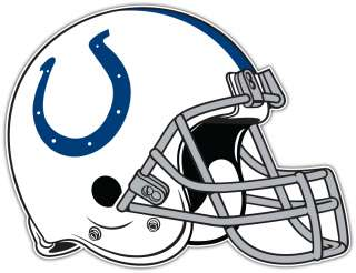 Indianapolis Colts NFL Helmet Football Bumper Window Sticker Decal 5