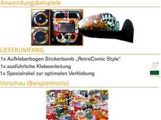 E189 Stickerbomb Sticker Bomb Bombing Aufkleber Autoaufkleber Golf VW