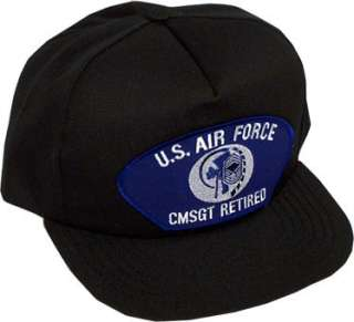 air force cmsgt retired surrounding an image of the insignia of rank