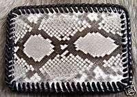 Vintage Snakeskin Snake Skin Belt Buckle