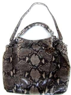 398NWT Michael Kors Erin Large Shoulder Tote Handbag Genuine Leather