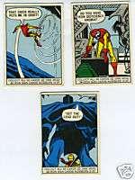 Three 1966 Marvel Comics Iron Man Trading Cards