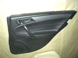 2003 2006 Mercedes C230 RT Rear Door Panel 2037307862