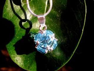 HAUNTED INDIGO SPIRIT PENDANT ORGONE ENERGY POWER