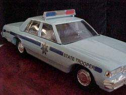 Jim Beam 1992 Blue State Trooper Car**MINT w/BOX police