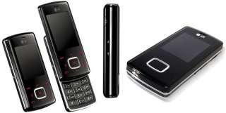 LG KG800 Chocolate UNLOCKED BLACK MOBILE PHONE NEW