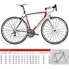 Eddy Merckx EMX1 Ultegra Carbon Road Bicycle Red/White