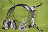 2012 Avid Elixir 7 HYDRAULIC DISC Brakes Front & Rear Sliver without