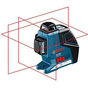 Bosch GLL 3 80 P Professional 3 Line/Plane Laser GLL3 80 P + BM 1 Wall