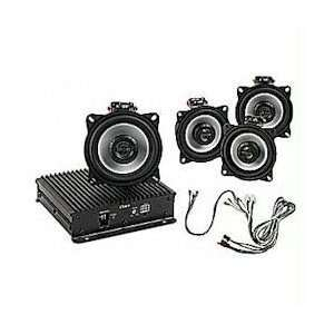 Bazooka Honda Gold Wing 4 Channel Motorcycle Stereo System