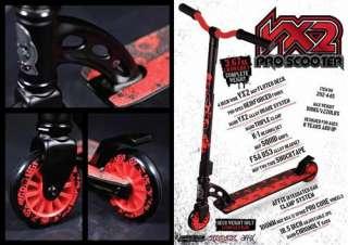 Stunt Scooter MGP MADD GEAR PRO Roller Grün schwarz 9334052024471