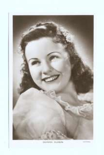 k2291   film actress Deanna Durbin   postcard