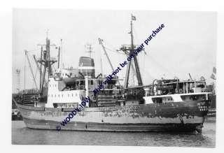 rp2174   Danish Cargo Ship   Frida Dan   photo 6x4