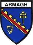 Armagh Irish County Crest Logo Decal Car Sticker