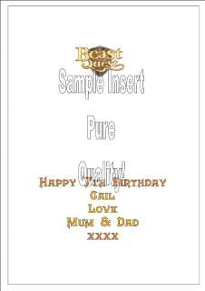 Personalised Beast Quest Birthday Card Kids Large Quali