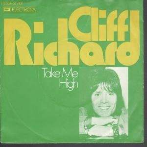 ME HIGH 7 INCH (7 VINYL 45) GERMAN EMI 1973: CLIFF RICHARD: Music