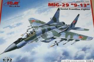 ICM 72141 MiG 29 9 13 Sowj. Kampfjet Plastikkit 1:72
