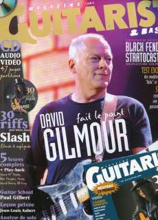 Guitarist Magazine #218  GILMOUR/ PINK FLOYD  + CD excl