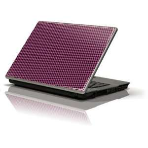 Houndstooth Black/Pink skin for Generic 12in Laptop (10