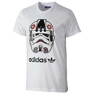 ADIDAS STAR WARS STORMTROOPER blanc T Shirt white tee SW 2012 S