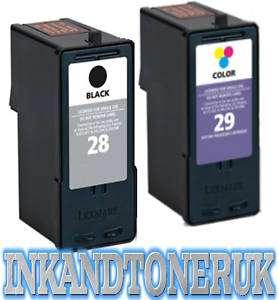 Lexmark Ink Cartridges 28 Black & 29 Colour Z1320 X5070