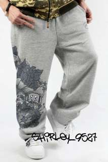 neuf ecko unltd hip hop baggy pantalons survetement