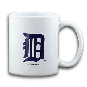 Detroit Tigers Ceramic Coffee Mug by Hunter: Sports & Outdoors