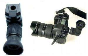 Visor de Ángulo recto 1X 2X para Canon EOS & Nikon AF
