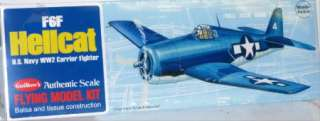 Guillows Flying Model Plane Kit   F6F Hellcat   503
