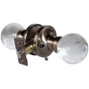 Krystal Touch of New York 3607APR Globe Passive Doorknob