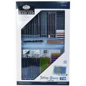 Clearview Art Set Sketching Drawing Toys & Games