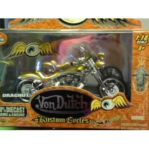 Jada Toys Von Dutch Kustom Cycles Diecast 1:18 Scale