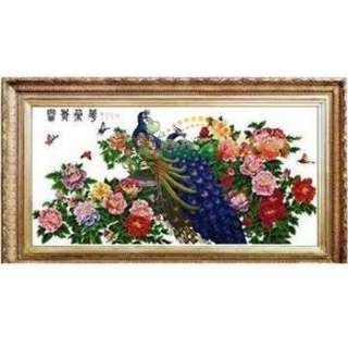 Wholesale Romantic Peacock Counted Cross Stitch Kit   DinoDirect