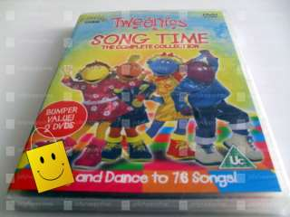 TWEENIES   SONG TIME   COMPLETE COLLECTION (DVD) *NEW* 5014503194529
