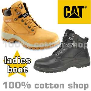 CAT Safety KITSON Work Boots Womens Ladies Steel Toe