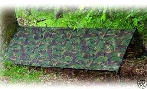 LARGE MILITARY BASHA army shelter tarp camo bivi tent