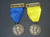 VINTAGE 1957 100 YEAR JUBILEE MEDICAL BELGIAN 2 MEDAL