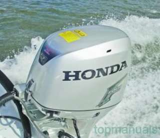 MANUAL TALLER HONDA MARINE BF5 WORKSHOP SERVICE