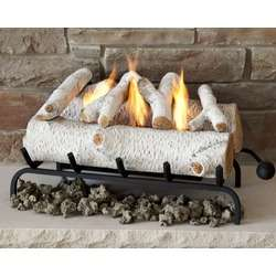 Real Flame Barrington Electric Fireplace in Pecan  Wayfair