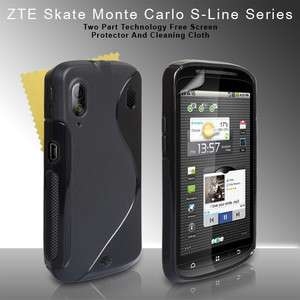GEL S LINE CASE COVER FOR THE ORANGE MONTE CARLO ZTE SKATE V960