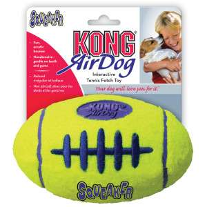 KONG AirDog Football Squeaker Tennis Dog Toy   Toys   Dog   PetSmart