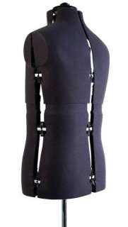 Menswear Mannequins Tailors Dressmakers Dummy Mannequin Adjustable