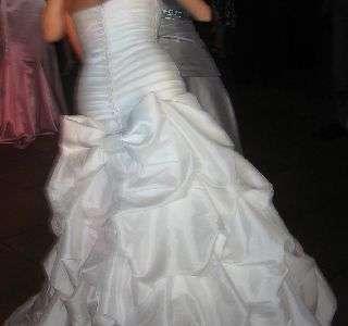 Vestido de novia Casajuanes, de corte sirena. (11846869)