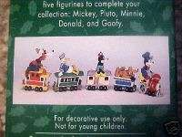 Pc Mickey Mouse Merry Miniatures Christmas Train