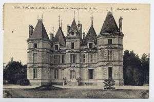 37*TOURS Chateau de Beaujardin