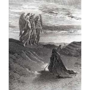 Abraham by Gustave Dore 24.25X30.00. Art Poster Print: Home & Kitchen
