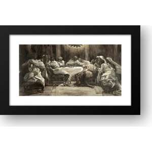 The Lords Supper 30x19 Framed Art Print by Tissot, James